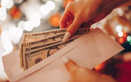 Photo of money in envelope courtesy Viktor Hanacek